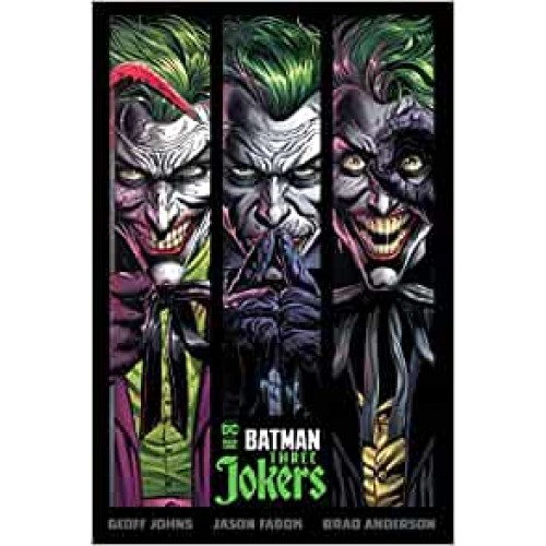 Batman: Three Jokers Geoff Johns Hardback Book