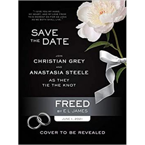 Freed: 'Fifty Shades Freed' as told by Christian E L James Paperback Book