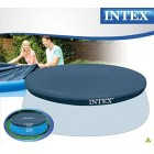 Intex 8-Ft Easy Set Pool Cover, blue