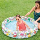 Intex 59421NP - Inflatable pool, star model, 2 rings, 122 x 25 cm, 150 litres