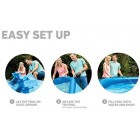 Outdoor Large Swimming Pool Kids Sunny Days 8ft x 30in Easy Set Garden