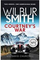 Wilbur Smith Book Courtney's 15 War, Two Heroes Unbreakable Bond Hardback