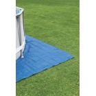 Ground Cloth Swimming Pool Floor Protector, 13 x 13 ft
