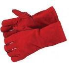 Welders Gauntlets Palm Thickness 1.2 Mm Gloves 330 Mm Safety Diy Welding P340