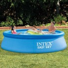 Outdoor Intex Easy Set Up 10 Foot x 30 Inch Swimming Pool Kids Sunny Days