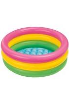 Intex Sunset Glow Baby Pool Childrens Paddling Pool
