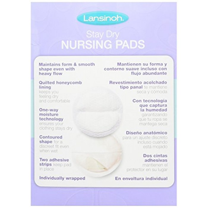... Lansinoh Disposable Nursing Breast Pads (60 Piece Pack) ...