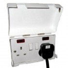 BabySecurity Single Electric Plug Socket Cover Baby Child Safety Protector
