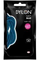 Dylon Hand Dye Sachet-Navy, Powder, 10x14x7.8 cm