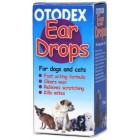Otodex Veterinary Dog Drops Pet Cat Ear Mite Treatment Infection Clear Wax 14 ml
