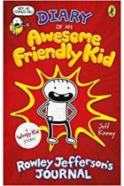 Diary of an Awesome Friendly Kid: Rowley Jefferson's Journal (Diary of a Wimpy Kid) Jeff Kinney