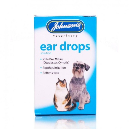 Johnsons Veterinary Products Ear Drops