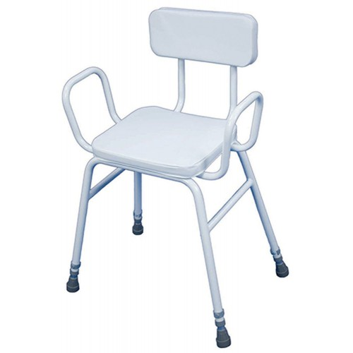 Aidapt Malling Perching Stool with Arms and Padded Back VG837