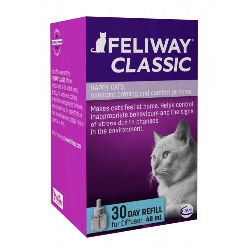 Feliway Classic Plug in Diffuser 30 Day Refill Spray Calm Cat Stress Relief