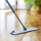 E-Cloth Deep Clean Mop – Premium Mop. Perfect for all floor types. Premium microfibre mop head removes over 99% of bacteria using just water Blue