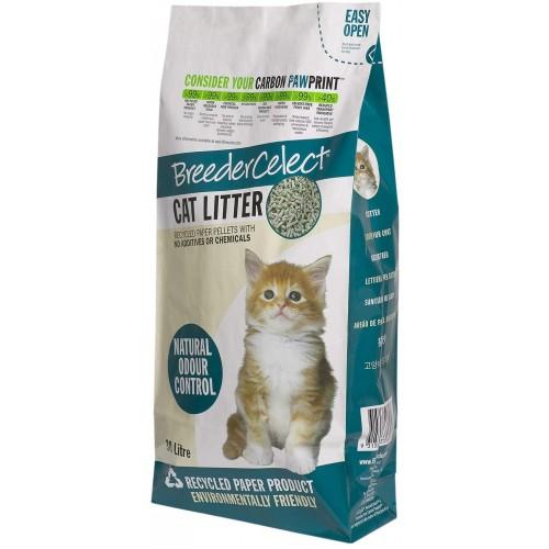 Breeder Celect Cat Litter, 30L