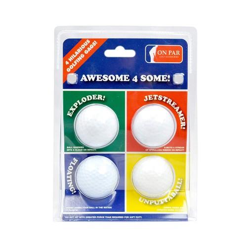Golf Joke Balls Exploding Jetsrteamer Floater Prank Tricks Novelty Gag Funny