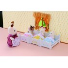 Sylvanian Families Triple Bunk Beds, Assorted colors