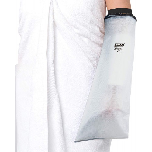 LimbO Waterproof Protectors Cast and Dressing Cover - Adult Half Arm (M60: 25-29 cm Above Elbow Circ.)