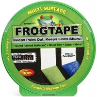Frog Masking Tape Multi Surface Decorators Painter For Cured Paint 24mm x 41.1m