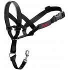 HALTI Head Collar for Dogs Black Gentle Stop Pull Dog Padded Lead Size 3 Medium