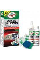 Turtle Wax Headlight Headlamp Lens Cleaning Restoration Polish Restorer Kit