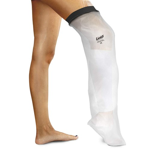 LimbO Waterproof Protectors Cast and Dressing Cover - Adult Half Leg M80: 41-54 cm Above Knee