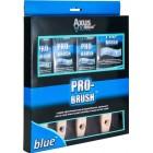 Axus Décor Pro-Brush Brush Set - Blue (4 Pieces)