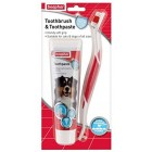 Toothbrush and Toothpaste Kit Beaphar 100 g Dental Care Puppy