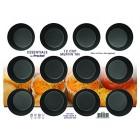 Prochef Teflon Non-Stick Premium Coated  12 Cup Muffin Tray