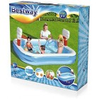 Bestway Basketball Play Above Ground Pool 2.54 m x 1.68 m x 1.02 m