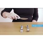 NRS Healthcare M80270 Kura Care Adult Cutlery Set, Easy Grip Set