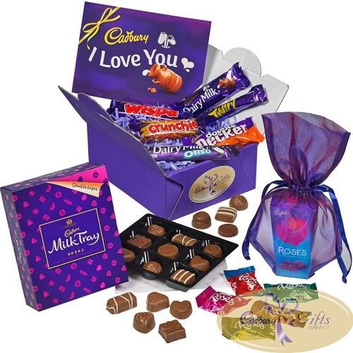 Cadbury Valentine Chocolate Treasure Box