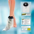 LimbO Waterproof Protectors Dressing Cover - Adult Foot Shower Cover for Bandages and Light Dressings (M20: 20-25 cm Ankle Circ.)