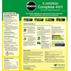 Safe Lawn Friendly Care Feed Weed And Moss Killer Grass Fertiliser 4in1 for 80m2