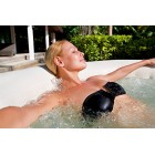 Lay Z Spa Palm Springs Airjet Inflatable Portable Hot Tub Spa, 4 - 6 Person BW54129
