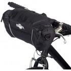 BTR 5L Handlebar Storage Bike Bag Pannier With Removable Shoulder Strap & Water Resistant