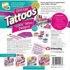 FabLab Glitter Tattoos Kit Set 25 Sparkly Glittery Festival Party Fun Temporary