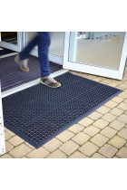 Large Outdoor Rubber Entrance Mats Anti Slip Drainage Door Mat Flooring