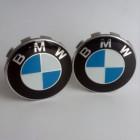 Set of 4 BMW Centre Wheel Cover Caps 68mm Rim Badge Hub Logo Emblem