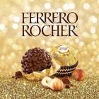 Ferrero Rocher Chocolate Gift Set, Hazelnut and Milk Chocolate Pralines, Box of 24 Chocolates