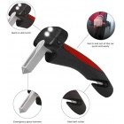 Car Cane Car Stay Mobility Aid Standing Support Portable Grab Bar Assist Handle All-in-One Auto with Built in LED Flashlight Seatbelt Cutter and Window Breaker