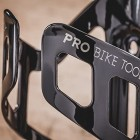 Bike Water Bottle Cage - Black or White Gloss, Matt Black - Secure Retention System, No Lost Bottles - Lightweight & Strong Bicycle Bottle Holder - Quick & Easy to Mount - For Road & Mountain Bikes