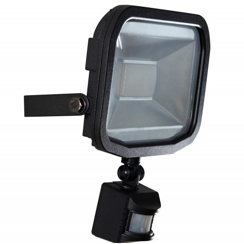 Luceco 20 W LFSP20W1B50-02 5000K LED BG Guardian Floodlight Plus PIR - Black