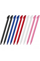 DelTex® 10 x Stylus Touch Pen For Nintendo 3DS XL LL Black White Pink Red Blue