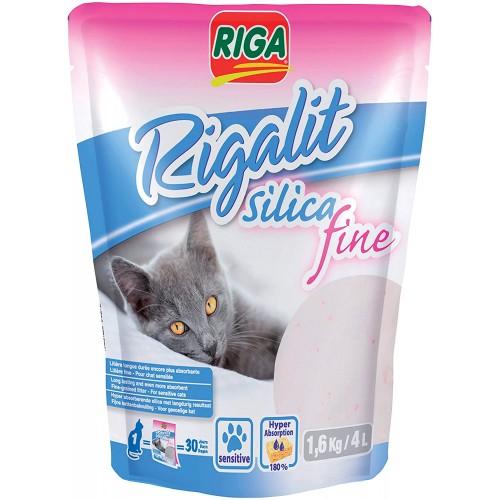 Riga Rigalit Fine Silica Cat Litter 4L