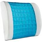 Orthologics Premium Lumbar Support Pillow Soft Back Rest Cushion Memory Foam Support Travel Pillow OL2