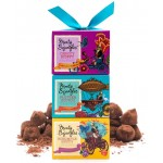 Monty Bojangles Cocoa Dusted Truffles Gift Tower 300g