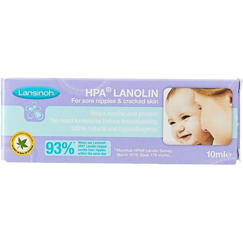 Lansinoh HPA Lanolin Cream for Sore Nipples & Cracked Skin (10ml)