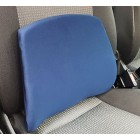 Car Extra WIDE Memory Foam Seat Cushion Travel Lumbar Pillow Lower Back Support OL6